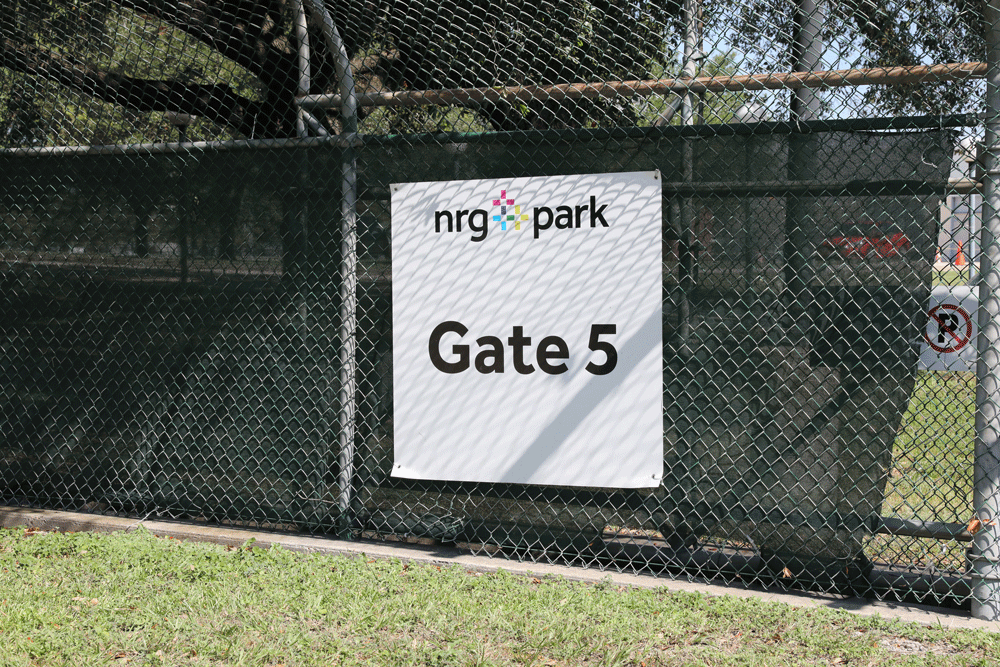 Arrive through NRG Gate 5