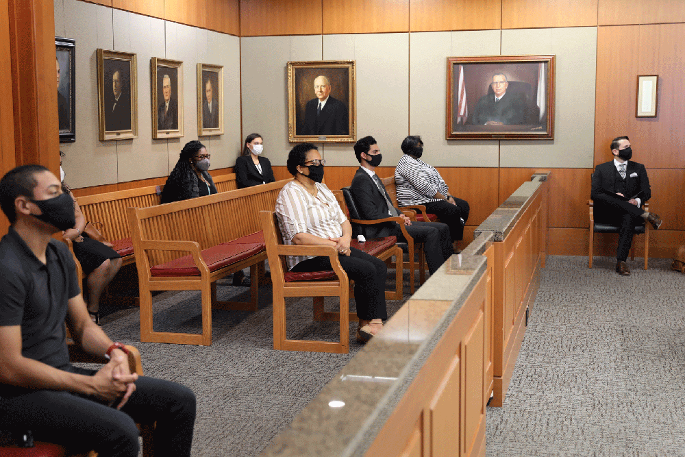 Jury in the Gallery